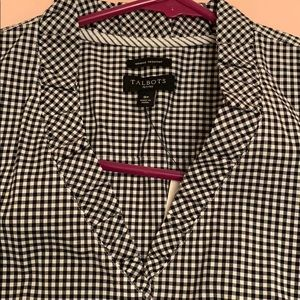 Talbots Tops - NWT - Gingham wrinkle resistant top - Talbots.